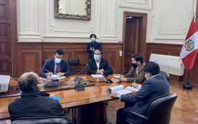 Microempresarios de Gamarra se reunieron con premier Guido Bellido