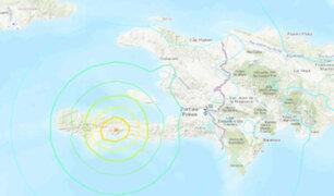 Terremoto de magnitud 7,2 sacudió esta mañana el sur de  Haití