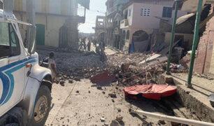 Impactantes imágenes: mar comienza a ingresar a las ciudades  tras terremoto en Haití