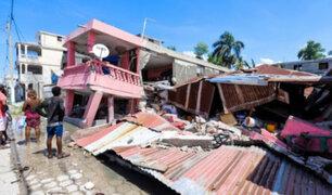 Haití: terremoto de magnitud 7,2  habría dejado al menos  227 muertos