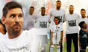 Lionel Messi recibió efusiva bienvenida de la hinchada del PSG