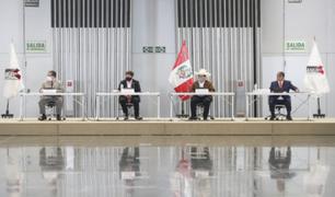 Presidente Pedro Castillo participó en reunión de trabajo con gobernadores regionales