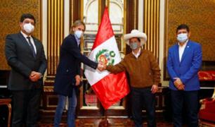 Presidente Pedro Castillo se reunió con Ricardo Gareca