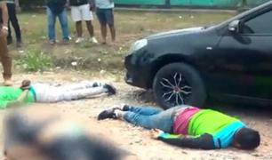 Pucallpa: caen delincuentes que intentaron asaltar a trabajador