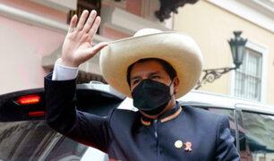 Pedro Castillo señaló que más empresas están pagando sus deudas al Estado