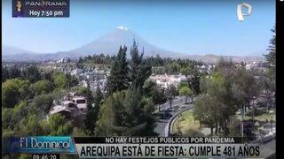 Arequipa celebra a lo grande sus 481 años de fundación