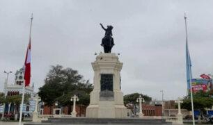 Pisco: izan bandera a media asta en recuerdo de las víctimas del terremoto ocurrido en 2007