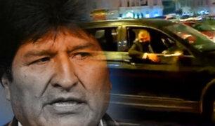 La doble agenda de Evo Morales en Lima: una visita mucho más que protocolar