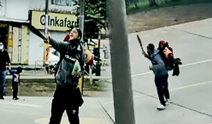El Agustino: peleas continuas entre extranjeros causan temor entre los vecinos