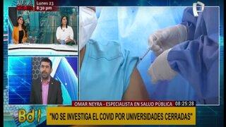 """Especialista en salud pública: """"Hay actividades más peligrosas que ir al colegio"""""""