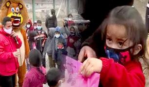 Carabayllo: llevan regalos y donaciones para los más pequeños por el Día del Niño
