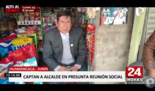 Huancayo: alcalde habría sido captado bebiendo en horas de trabajo
