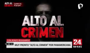 """""""Alto al Crimen"""" regresa muy pronto a las pantallas de Panamericana TV"""