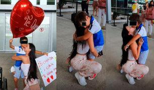 Sheyla Rojas: tras cinco mese alejados, modelo se reencontró con su hijo Antoñito en España