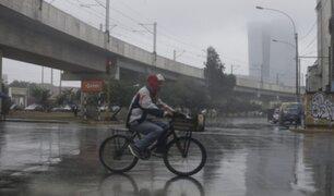 Lloviznas y neblinas continuarán en Lima en lo que resta de setiembre, advierte Senamhi