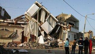 IGP revela qué regiones podrían sufrir un terremoto de gran magnitud próximamente