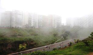 Senamhi: distritos costeros de Lima registran niveles de humedad de hasta 100%