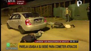 """""""Raqueteros de Miotta"""": cae banda delincuencial que causaba terror en Lima Sur"""