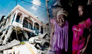 """Tras terremoto en Haití: """"ayuda internacional no está llegando"""""""