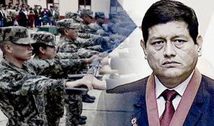 """Walter Ayala: """"servicio militar obligatorio está en observación"""""""