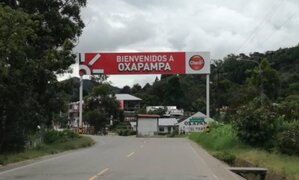 Oxapampa: celebran fiesta patronal durante dos días pese a la pandemia