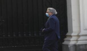 Manuel Rodríguez Cuadros visitó por segunda vez Palacio de Gobierno