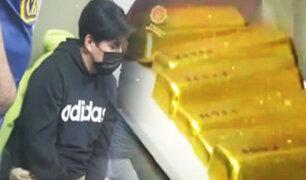 Arequipa: Cae policía acusado de robar lingotes de oro en el Callao