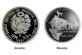 BCRP lanza nueva moneda por los 200 años del Ejército del Perú