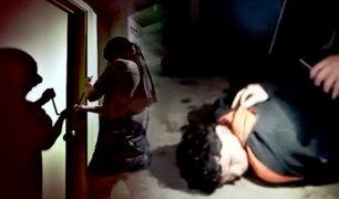 Santa Anita: ladrón suplica ir a prisión por miedo a vecinos enardecidos