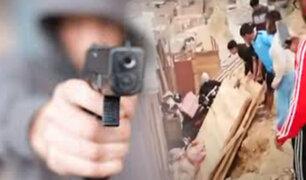 Sicarios asesinan a hombre de seis balazos en Ventanilla