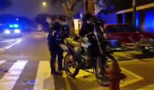 San Isidro: serenos son embestidos por patrullero policial cuando iban a atender una emergencia