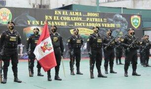 Escuadrón Verde de la PNP celebra su décimo octavo aniversario