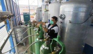 Minsa cuenta con 332 plantas de oxígeno medicinal operativas en todo el país