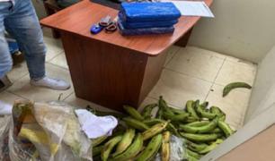 Huánuco: decomisan más de tres kilos de alcaloide de cocaína que eran trasladados como encomienda