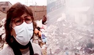 SJM: vivienda abandonada sigue como botadero de basura, pese a denuncia