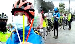 Desde el 3 de setiembre: ciclistas recibirán multas entre S/22 hasta S/352