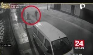 San Luis: delincuentes roban vehículo de heladería