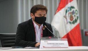 "Premier Guido Bellido: ""Necesitamos un canciller dialogante"""