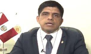 Junta de Fiscales Supremos aceptó renuncia de Juan Carrasco a cargo de fiscal