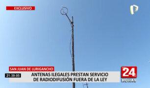 MTC realizó operativo para incautar equipo piratas de radiofusión