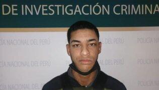 Los Olivos: capturan a sujeto que participó en asesinato de un policía que se resistió al robo