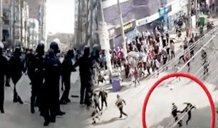 Multitud de informales atacaron a fiscalizadores en Gamarra
