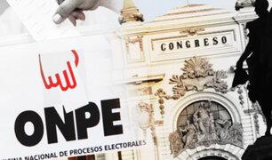 Congreso creará comisión para investigar elecciones 2021