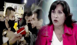 Dina Boluarte: miembros de seguridad reprimen a ciudadanos en Apurímac