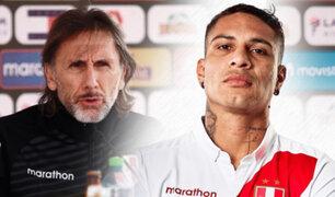 Técnico Ricardo Gareca anunció a convocados de la bicolor para fecha triple de eliminatorias
