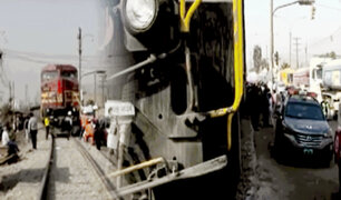 Captan el momento en que madre muere arrollada por un tren en Ate