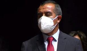 Ministro Maraví: No tengo vinculación con el Movadef ni con ningún grupo violentista
