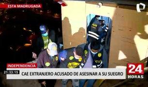 Independencia: cae con granada de guerra extranjero acusado de asesinar a su exsuegro