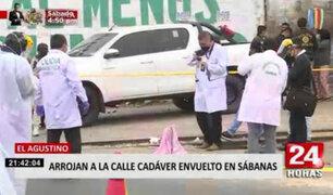 El Agustino: vecinos de Av. Ferrocarril denuncian constante inseguridad