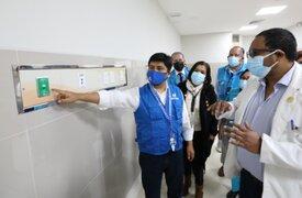 Presidente de EsSalud supervisó avances en infraestructura hospitalaria en Lambayeque